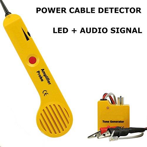 incutex wire tracker kabelfinder rj45 rj11 finder f r telefonkabel und lan kabel. Black Bedroom Furniture Sets. Home Design Ideas